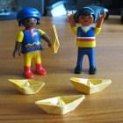 Origami für Anfängers, Teil 1: Papierbötli