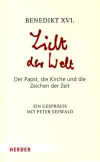 Licht der Welt - Cover des Papstinterview-Buches, erschienen im Herderverlag 2010
