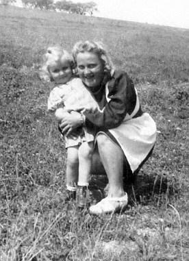 Sophie Huber als Kindergärtnerin