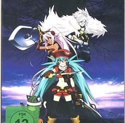 Das DVD-Cover von .hack//Quantum - anders als bei diversen Händlern angegeben mit FSK12 versehen.