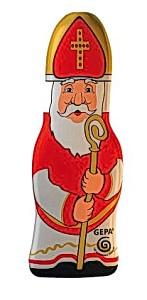 Nachhaltige Schokolade: So soll der Nikolaus am KGT 2012 aussehen.