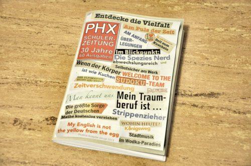 Cover der Phoenix Nr. 60, wie es sich auf der ersten gedruckten 60er-Phoenix repräsentiert. Die restlichen werden in Kürze ans KGT geliefert.