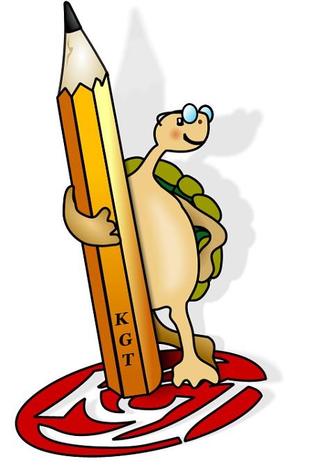 Im Jahre 2002 fand ein Maskottchenwettbewerb am KGT statt, den damals Nora Sturms handgezeichneter Entwurf einer KGT-Schildkröte gewann. Von Niarts gibt es seit 2004 eine digitale Fassung davon.