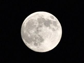 Mond bei Lauchringen am Samstag, 22 Juni 2013 (Foto: Martin Dühning)