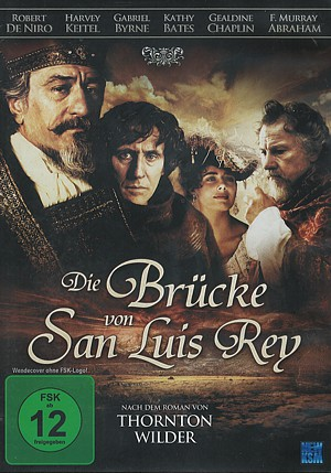 """Cover der DVD-Fassung von """"Die Brücke von San Luis Rey"""" (2004), erschienen bei NEW KSM"""