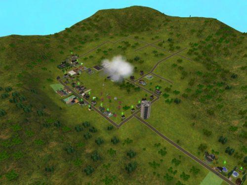 """Die sterilen, nicht begehbaren Nachbarschaften waren sicher kein Highlight von """"Die Sims 2"""" - sie verstrahlten optisch und auch vom Benutzerhandling den schnöden Charme der 90ziger Jahre - bloß 10 Jahre später..."""