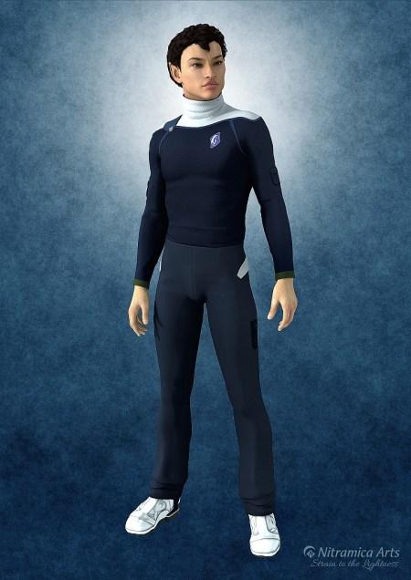 Ab 470 a. C. wurde eine neue Uniform für die Mannschaften der 9. Flotte eingeführt. Sie gelten für die Ränge vom Fähnrich bis zum Commander.