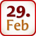 Was schreibt man am 29. Februar?