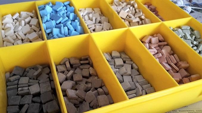 Viele, viele Mosaiksteinchen (Foto: Martin Dühning)