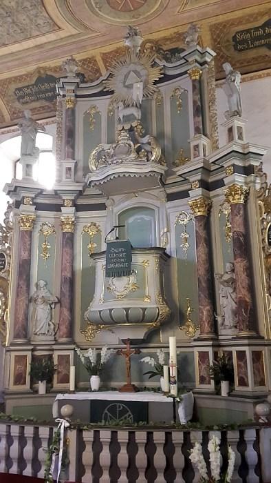 Hochaltar der Marienkirche (Foto: Martin Dühning)