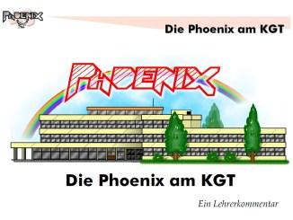Die Phoenix und das KGT im Schuljahr 2003/2004 (Grafik: Martin Dühning)