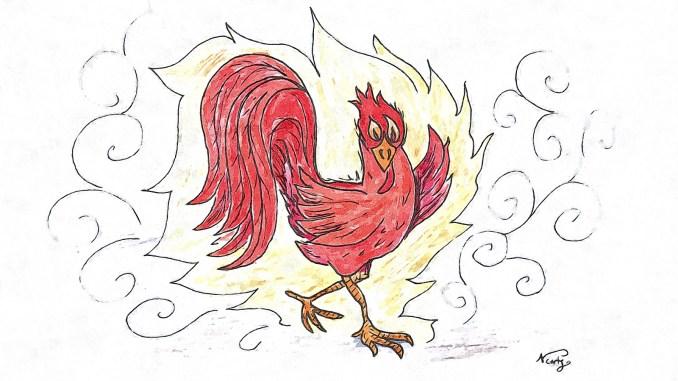Am 28. Januar beginnt in China das Jahr des Feuer-Hahns. (Grafik: Martin Dühning)