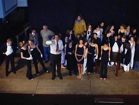 """Fächerübergreifender """"Gothic Evening"""" am KGT im Herbst 2003"""