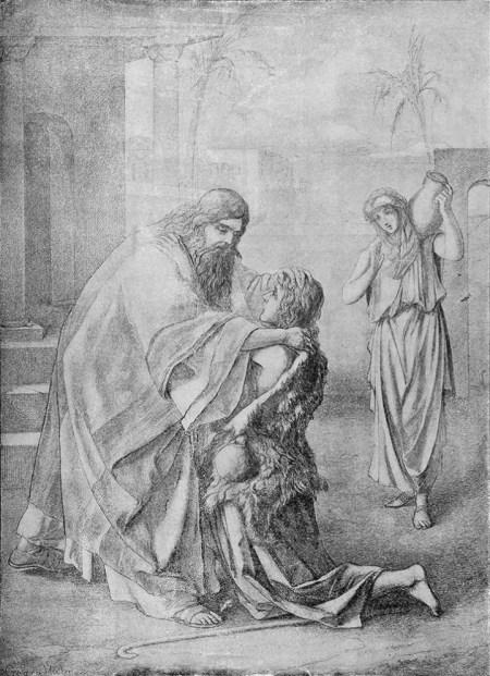 """Rückkehr des verlorenen Sohnes"" - Heinrich HofmannGeorg Hahn [Public domain], Quelle: Wikimedia Commons"