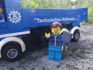 Grüße vom LEGO-THW (Foto: Martin Dühning)