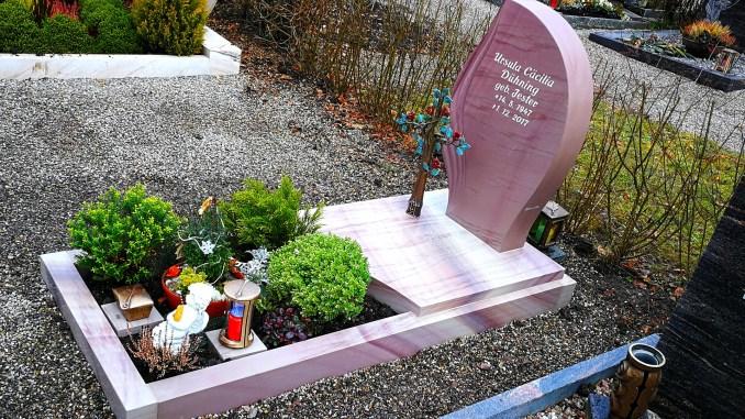 Das Grab von Ursula Dühning im Januar 2020 (Foto: Martin Dühning)