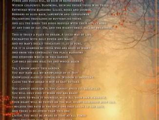 The Secret Garden - Visual Poem by Martin A. Duehning