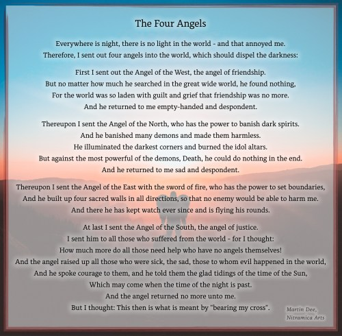 The Four Angels - Visual Poem (Text: Martin Duehning)
