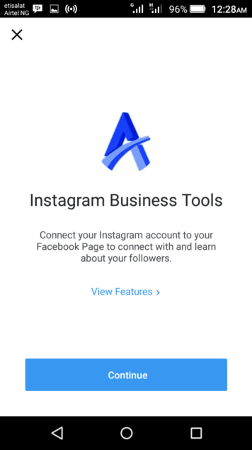 Business Profile on Instagram 2