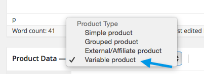 Selecting-variable-product-WooCommerce