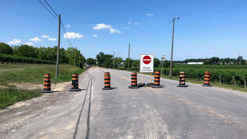 Cannonball 300 Road Closure before Jordan