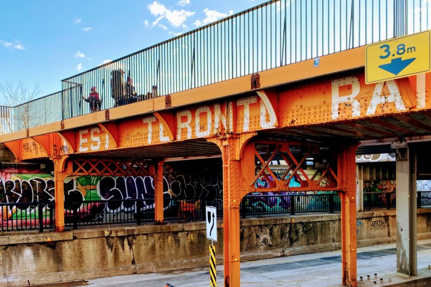 Toronto Street Art from Sunday's Long Run