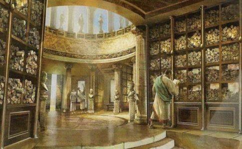 biblioteca de herofilo