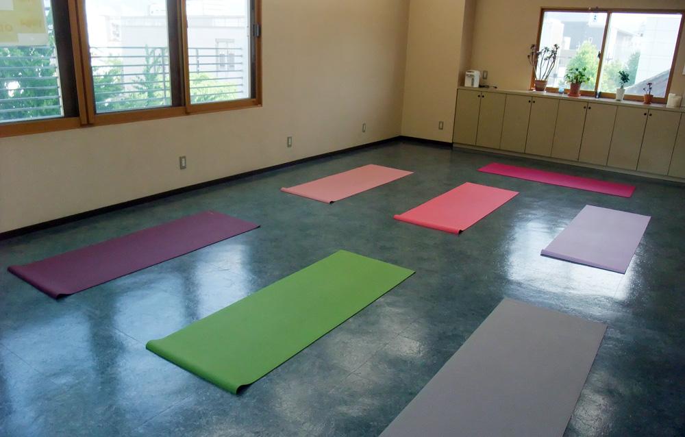 長野『ima*yoga』スタジオ内観