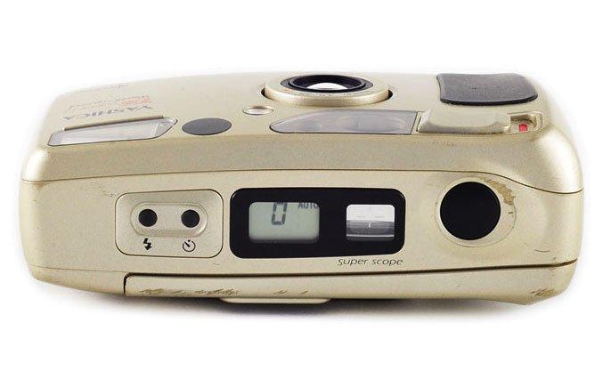 Yashica T4 camera
