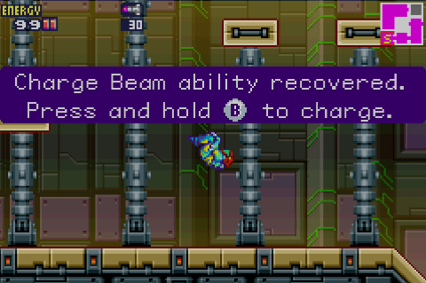 metroid Fusion Screen Shot 3:12:15, 2.44 PM 1