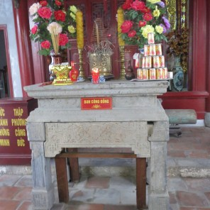 Chinese temple in the old quarter