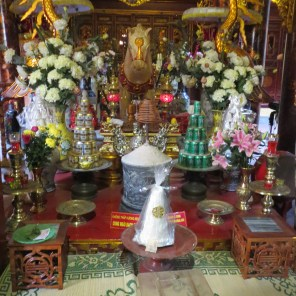 Chinese temple on walking tour