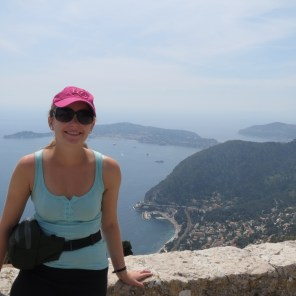 View from the top of Eze Village