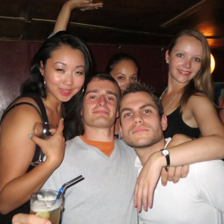 Wayne's with Torontonians