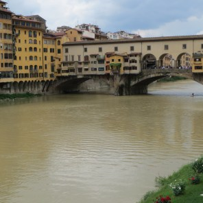 Florence river - view from bridge