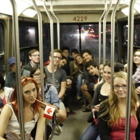 Hostel crew search for non-existent Canada Day fireworks
