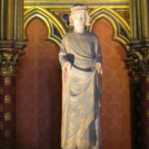 King Louis XI in Sainte Chappel