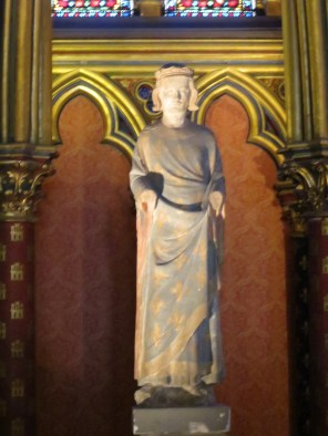 King Louis XI in Sainte Chappel