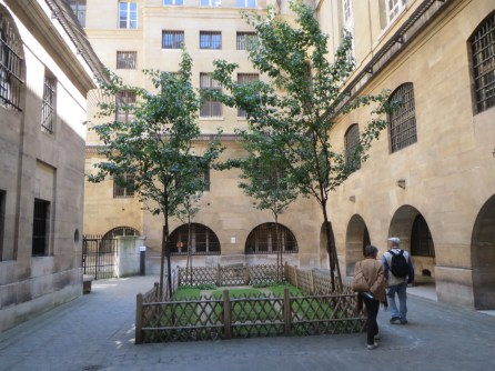 Courtyard in the Conciergerie