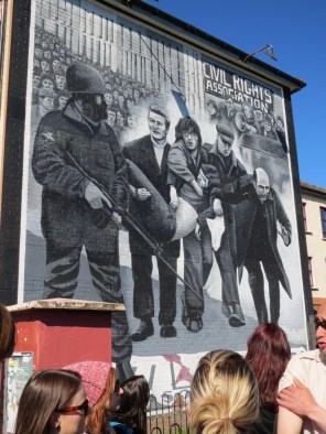 Bloody Sunday Mural, Derry