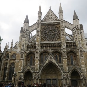 Westminster Abbey (it was closed)