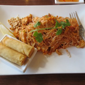Pad thai for lunch