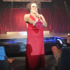 Amazing Whitney Houston impersonator