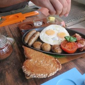 Ubud breakfast