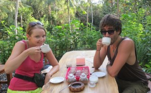 Luwak coffee in Ubud