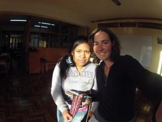 Professora Liseth e o trabalho que aprendi em 3 dias de curso