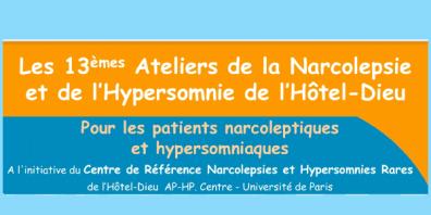 Entête 13èmes ateliers de la narcolepsie