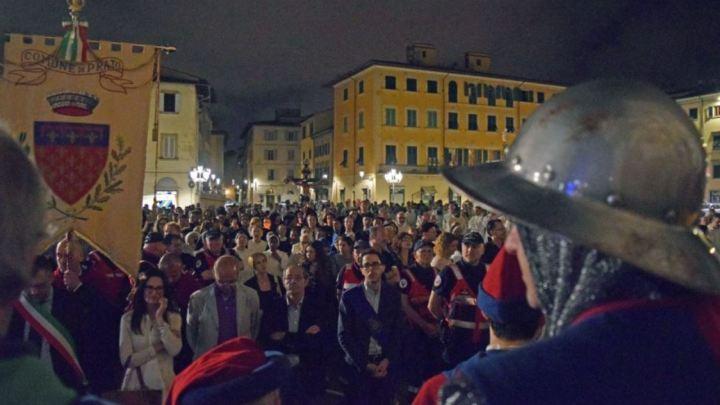 Millecinquecento fedeli alla processione del Corpus Domini
