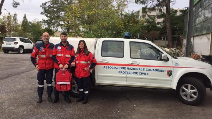 Donazione borsa di primo soccorso