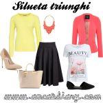 Ce haine se potrivesc pentru … Silueta triunghi